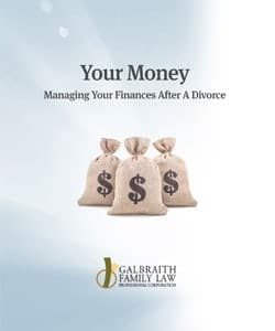 Your Money - managing your finances after a divorce - Galbraith Family Law