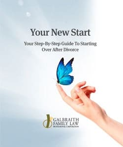 Your New Start - your step-by-step guide to starting over after divorce