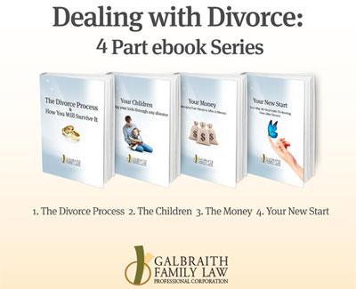 Dealing with Divorce 4 part ebook series - Galbraith Family Law