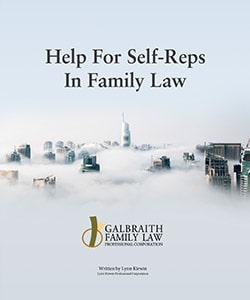 Help For Self-Reps in Family Law - Galbraith Family Law