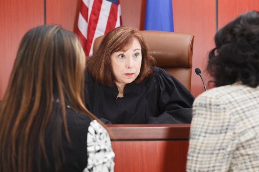 Judge hearing couple make mistakes in divorce proceedings