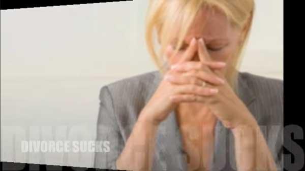 screenshot of Divorce sucks video