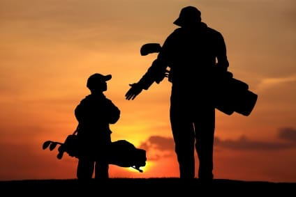 Father and son during summer access he scheduled