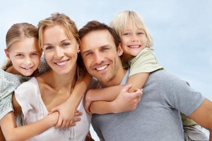 Step-parent with family happy to have adoption go through