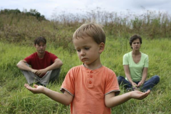 Child with divorced parents
