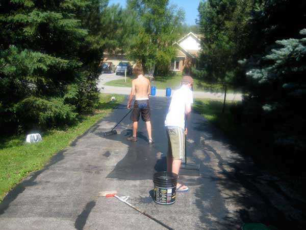 Giving kids chores during Summer Access