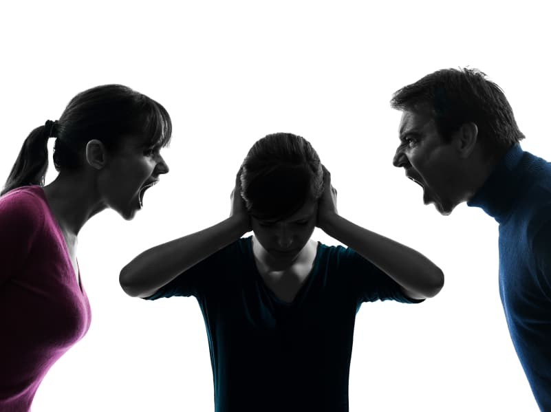 Parents having a Family Conflict