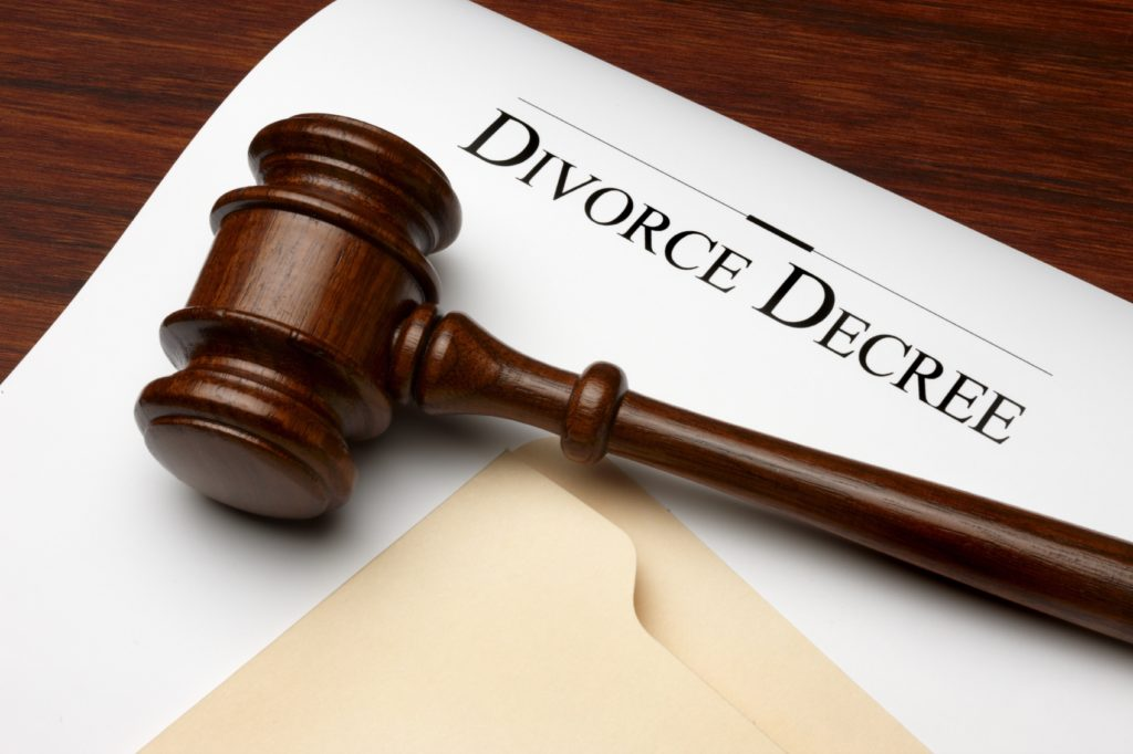 Paperwork for uncontested divorce