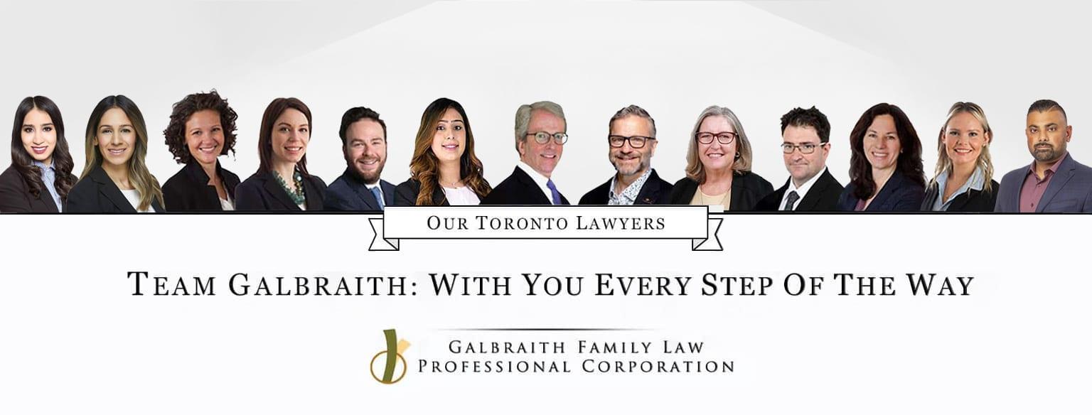 Toronto Family Divorce Lawyers - Galbraith Family Law